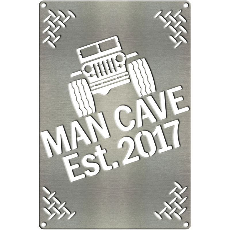 MS260 00003 1208 [Man Cave Est.Year Jeep]