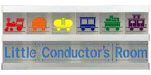 Little Conductor 2 Row w/Silver Frame