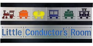 Little Conductor 2 Row w/Black Frame