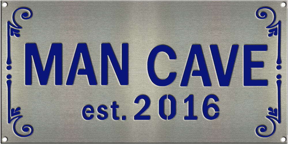 MS250 00016 0816 2114 [Man Cave Sign 1]