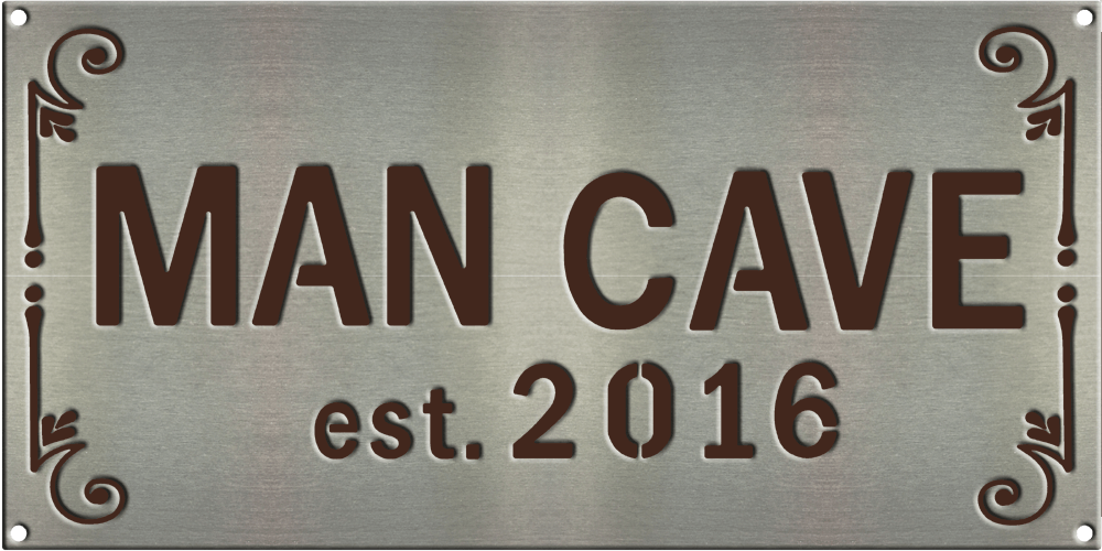 MS250 00016 0816 2418 [Man Cave Sign 1]