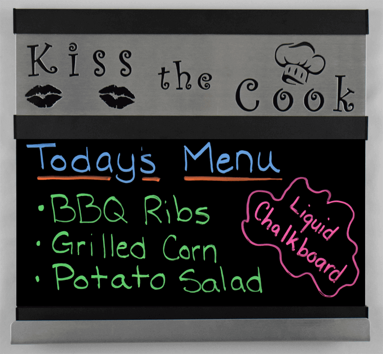 Kiss the Cook-Feature-Black