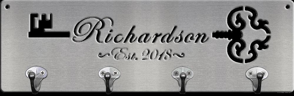 MS500A-00047-16-S [Cursive Font Vintage Key]