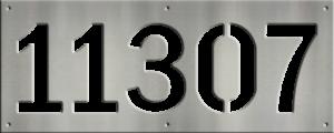MS250-00043-0820 [5 Digit Address Sign – Block]