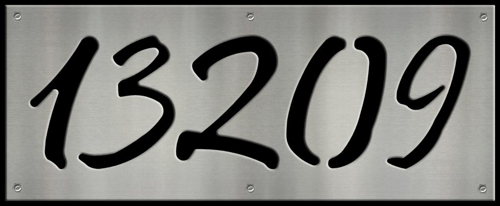 MS250-00070-0820 [5 Digit Address Sign – Fancy] BP