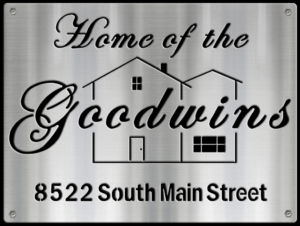 MS250-00081-1216 [Home of the Goodwins with Address] BP