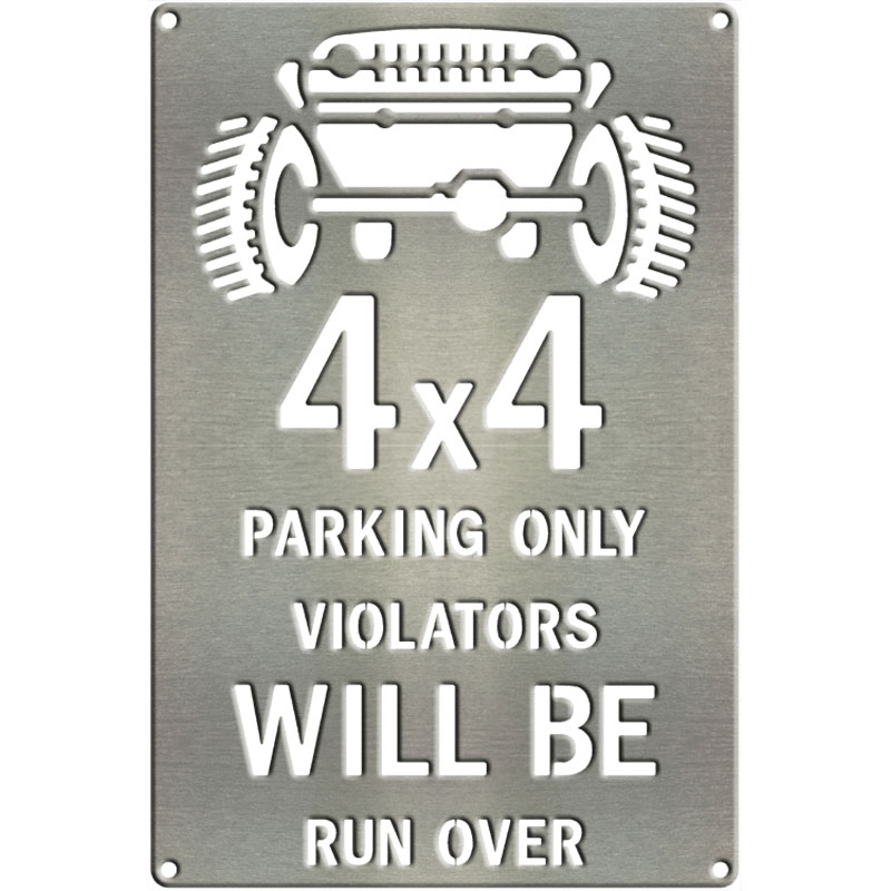 MS260-00006-1208-4×4-Parking-Only-Run-Over